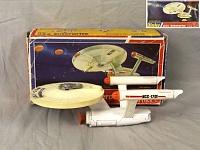 Нажмите на изображение для увеличения Название: Star Trek Toy USS Enterprise Die Box Dinky 1975.jpg Просмотров: 1 Размер:157,3 Кб ID:105408
