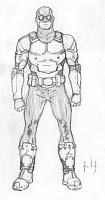 Нажмите на изображение для увеличения Название: Mk II armor designs for Razorback's men, as seen in Tales of the TMNT #61. Art by Andres Ponce..jpg Просмотров: 2 Размер:53,9 Кб ID:161525