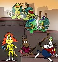 Нажмите на изображение для увеличения Название: teenage_mutant_ninja_turtles__modern_life__by_batterychicken-d5xqm79.jpg Просмотров: 4 Размер:183,3 Кб ID:79944