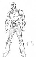 Нажмите на изображение для увеличения Название: Andres Ponce's redesign of the Razorback outfit for character's third appearance in Tales of the.jpg Просмотров: 2 Размер:50,3 Кб ID:161524