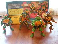 Нажмите на изображение для увеличения Название: toys_tmnt_1988_complete_set.jpg Просмотров: 60 Размер:147,1 Кб ID:36999