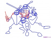 Нажмите на изображение для увеличения Название: Как-нарисовать-Черепашек-Ниндзя-из-TMNT-2007-4.jpg Просмотров: 17 Размер:124,9 Кб ID:48352