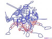 Нажмите на изображение для увеличения Название: Как-нарисовать-Черепашек-Ниндзя-из-TMNT-2007-6.jpg Просмотров: 20 Размер:166,4 Кб ID:48354