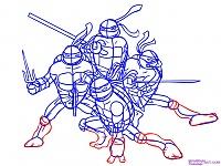 Нажмите на изображение для увеличения Название: Как-нарисовать-Черепашек-Ниндзя-из-TMNT-2007-7.jpg Просмотров: 15 Размер:181,7 Кб ID:48355