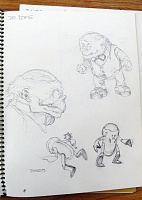 Нажмите на изображение для увеличения Название: concept sketches of Dr. Dome and Domeoids from TMNT Vol 1 #15 sm.jpg Просмотров: 8 Размер:108,8 Кб ID:135352