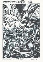 Нажмите на изображение для увеличения Название: Batman-TMNT-2-Cover-5A.jpg Просмотров: 0 Размер:614,6 Кб ID:142119